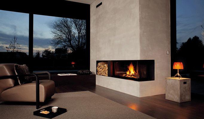 Der Name Rüegg steht europaweit für innovative, formschöne Kamine modernster zeitloser Bauweise. #Fireplace   #KaminOfen #DreamKamin #ModerneKamin