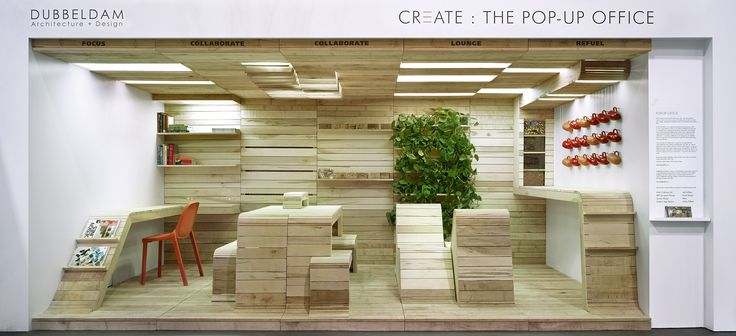 Pop-Up Office Installation | Concept Zoo