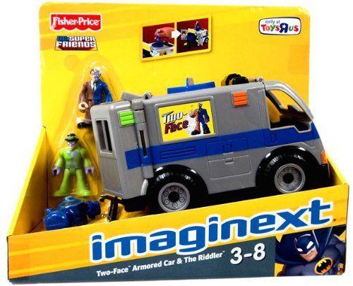 Imaginext DC Super Friends Exclusive Vehicle TwoFace