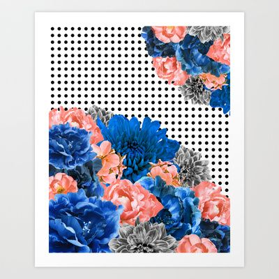 Posy For Dee Art Print by Ella Camporeale - $18.00