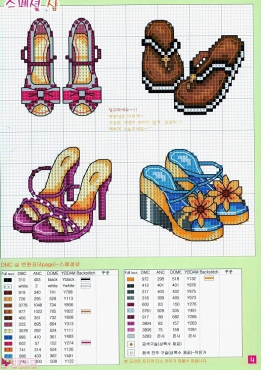 shoes/sandals hama perler beads pattern