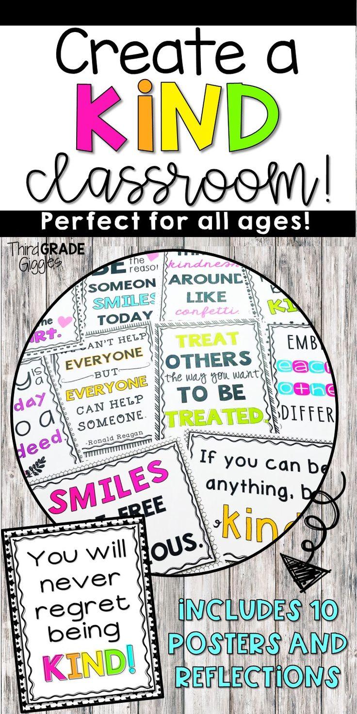 Design Your Classroom Games ~ Bästa kindness activities idéerna på pinterest