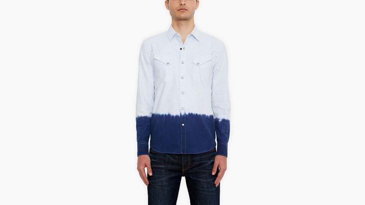 Bronco Western Shirt | Dip Dye | Chemises | Vêtements | Hommes | Levi's | France