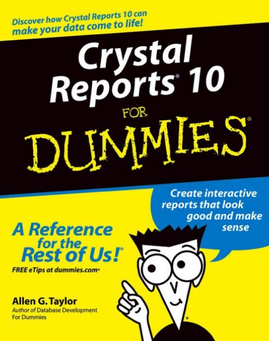 Crystal Reports For Dummies Pdf
