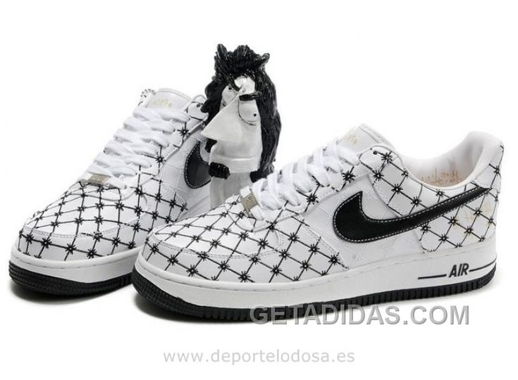 Nike Air Force1 Low Hombre Blanco Negro (Nike Air Force Af1) Super Deals
