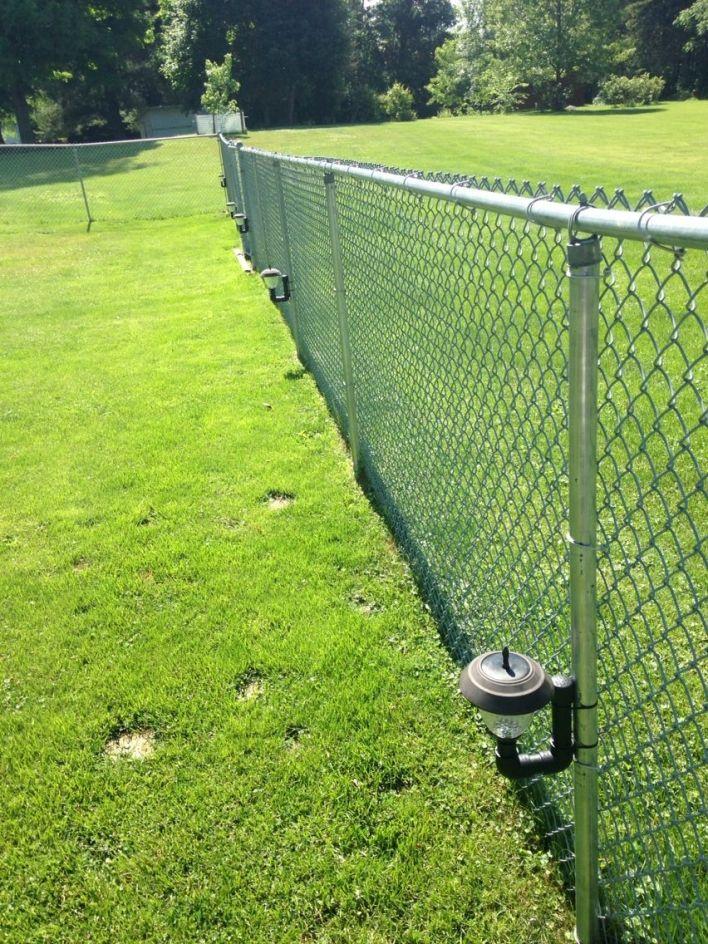 backyard fences chain link fence