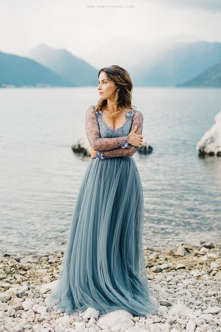 more on the blog www.sonyakhegay.com/bluebells #wedding #weddingdress #bluebellsdress #sonyakhegay #bride #bridalhair #bridal #bridalmakeup #dress #collection #dark