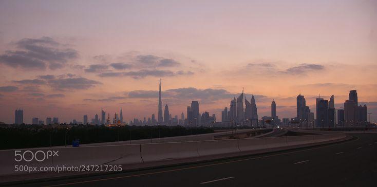 Dubai cityscape .....@ golden hour by SuseendranMaha