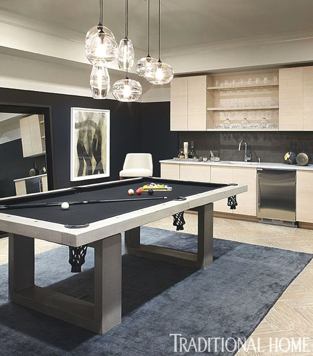 Recreation Room Design Ideas: 25+ Best Ideas About Pool Tables On Pinterest