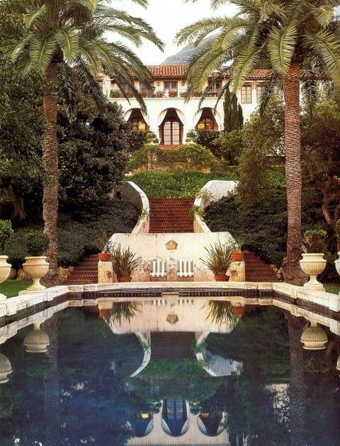 Hollywood glamour of a bygone era lives on at La Quinta, the one-time villa of Diandra and Michael Douglas in Montecito, California. Photo b...