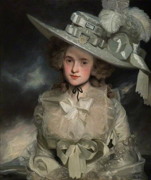 Mary Boteler (c.1763–1852) by John Hoppner Date painted: 1786 Oil on canvas, 75 x 62.8 cm (estimated) Collection: The Higgins Art Gallery & Museum, Bedford Repinned by www.lecastingparisien.com