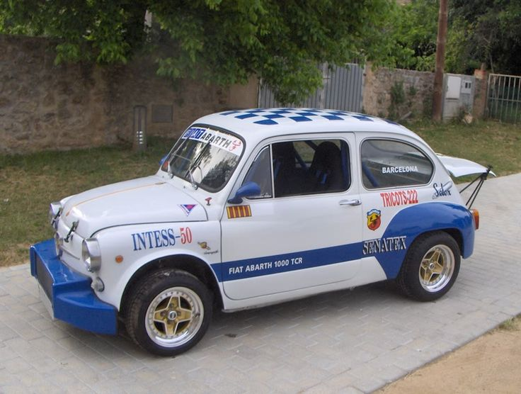 seat 600 racing abarth