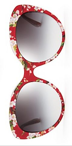 floral cat eye sunglasses  http://rstyle.me/~2issA