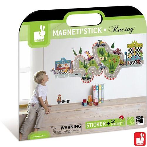 Racing muursticker met magneten 2847   Cars   Auto`s muurstickers   Zoek je mooie muurstickers voor de kinderkamer?
