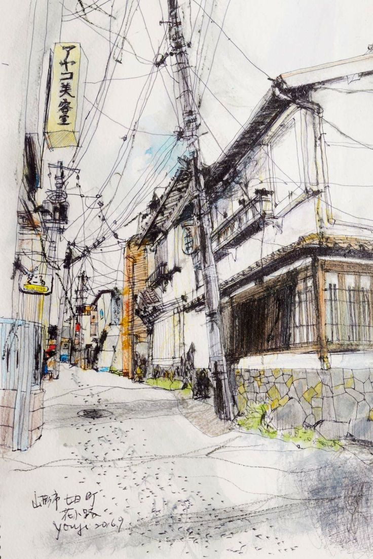 best urban sketches images on pinterest watercolor painting