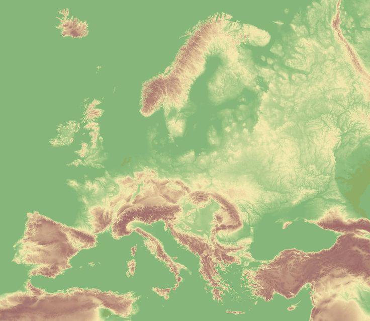Best DEM Digital Elevation Models Images On Pinterest - Digital elevation map of the world