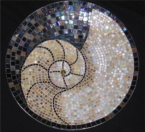 1000 Ideas About Mosaic Tile Table On Pinterest: 69 Best Images About Spiral Stone Patios On Pinterest