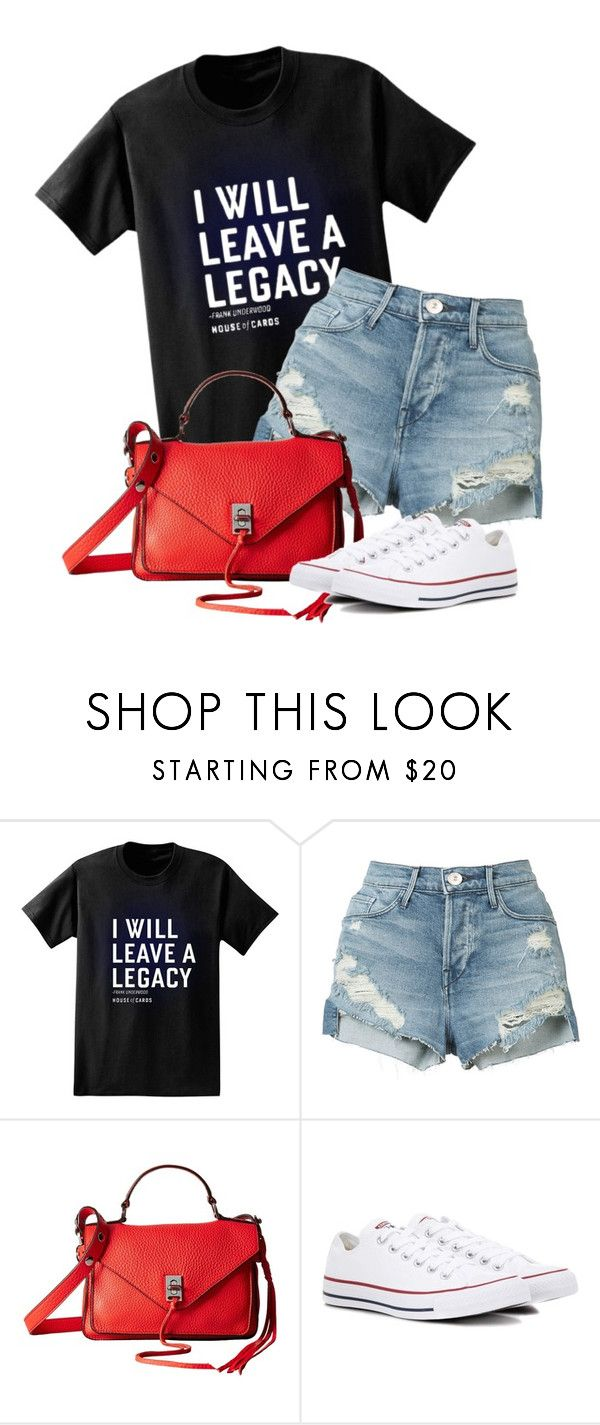 """""""Untitled #706"""" by indirareeves on Polyvore featuring Paul Frank, 3x1, Rebecca Minkoff and Converse"""