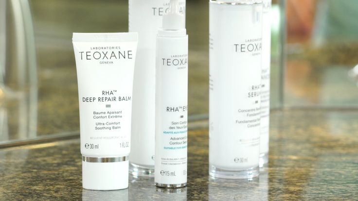 Teoxane products made with hyaluronic acid target wrinkles and fine lines.
