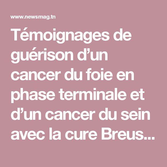 Témoignages de guérison d'un cancer du foie en phase terminale et d'un cancer du sein avec la cure Breuss | NewsMAG