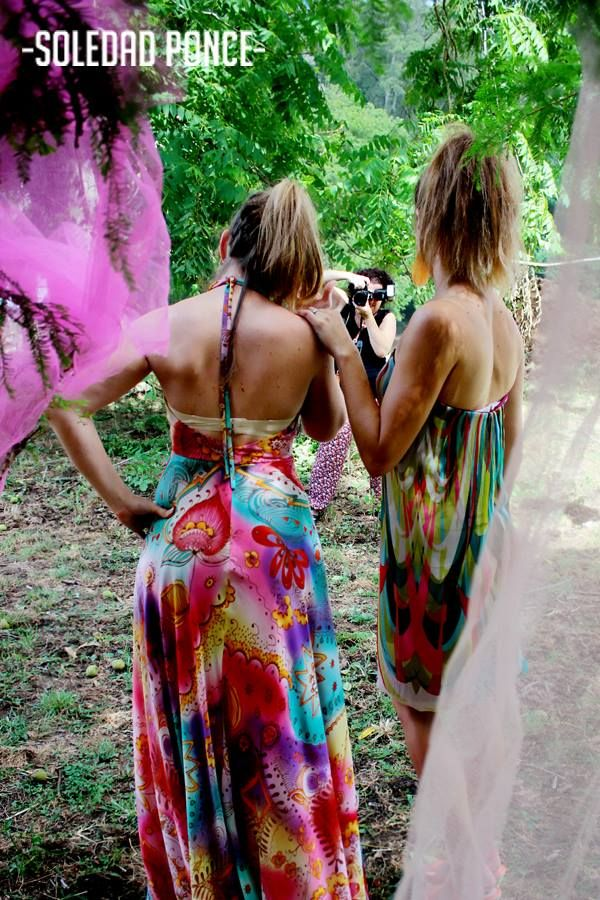 Behind the scenes- Fashion shoot for The Pink Panocha