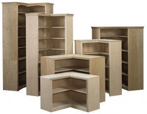 Hoot Judkins Furniture San Francisco San Jose Bay Area Arthur W. Brown Arthur Brown  Corner Bookcases  Custom Bookshelves Corner Bookcases