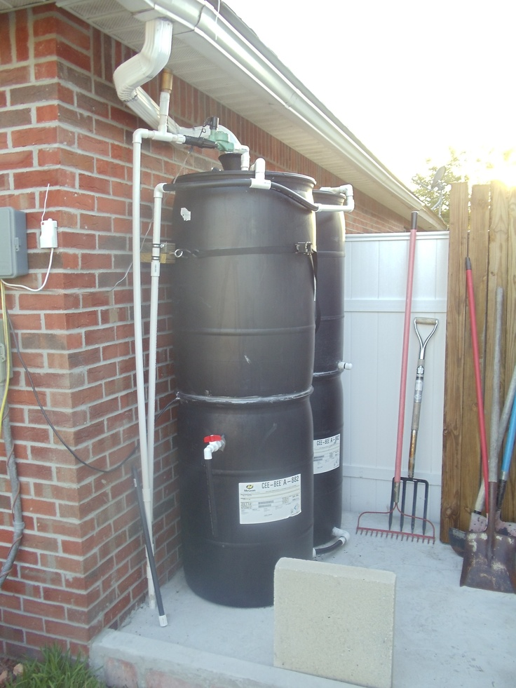 9 best soggy lawn wet backyard see before after photos for Making rain barrel system