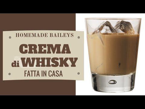 CREMA DI WHISKY FATTA IN CASA DA BENEDETTA - Homemade Baileys Whisky Cream