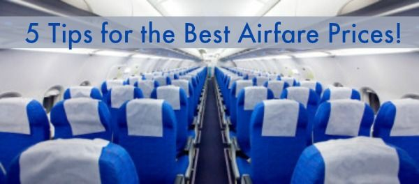 5 Tips for the Best Airfare Prices! | BlackandMarriedWithKids.com