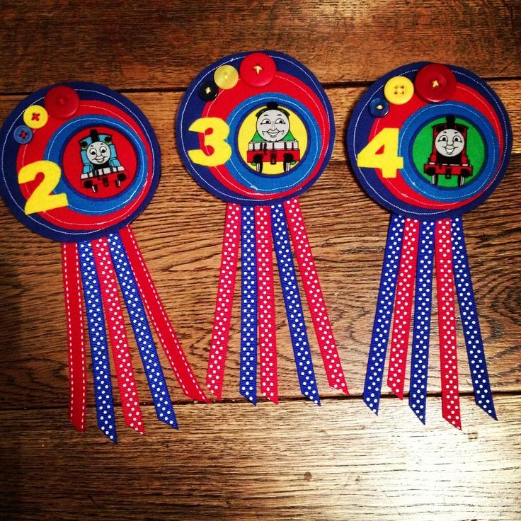 Thomas the tank birthday badges :) x
