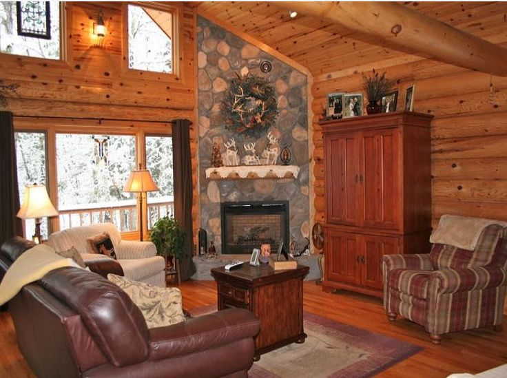 34 best images about log homes on pinterest luxury log for Luxury log cabin kits