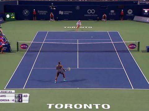 Toronto : Serena Williams affrontera Naomi Osaka en quarts de finale – Tennis – WTA – Toronto