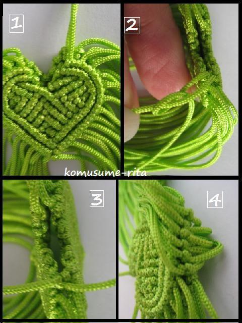 Macrame Heart 3D