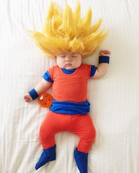 ドラゴンボール 悟空 スーパーサイヤ人 おもしろ画像 赤ちゃん 可愛いの画像 プリ画像