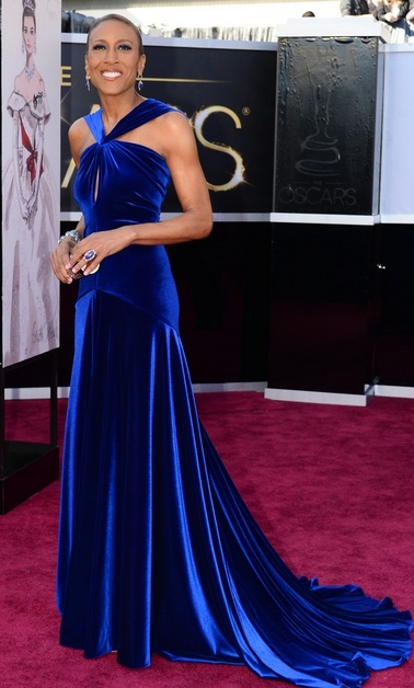 Robin Roberts at the Oscars - such an inspiration