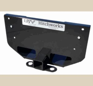 Rear Skid Plate / Receiver Hitch Extension - Kubota RTV X Series