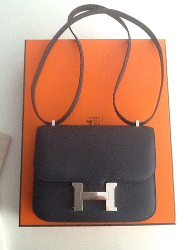 hermes suede handbag constance