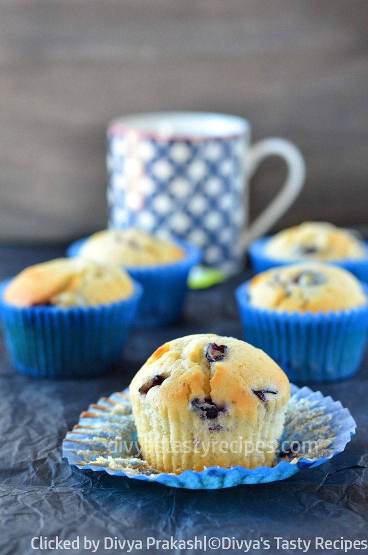 blueberry yogurt muffins, soft blueberry muffins with yogurt