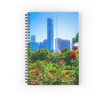 Red Roses in the Botanical Gardens - Melbourne, Victoria Spiral Notebook