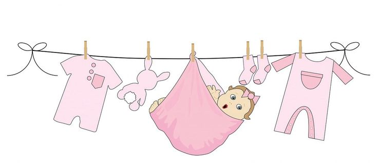 Resultado de imagen para laundry line baby shower