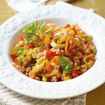 Zartweizen-Gemüse-Pfanne