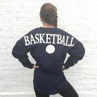 BASKETBALL Football Jersey www.throwlikeagirl.com