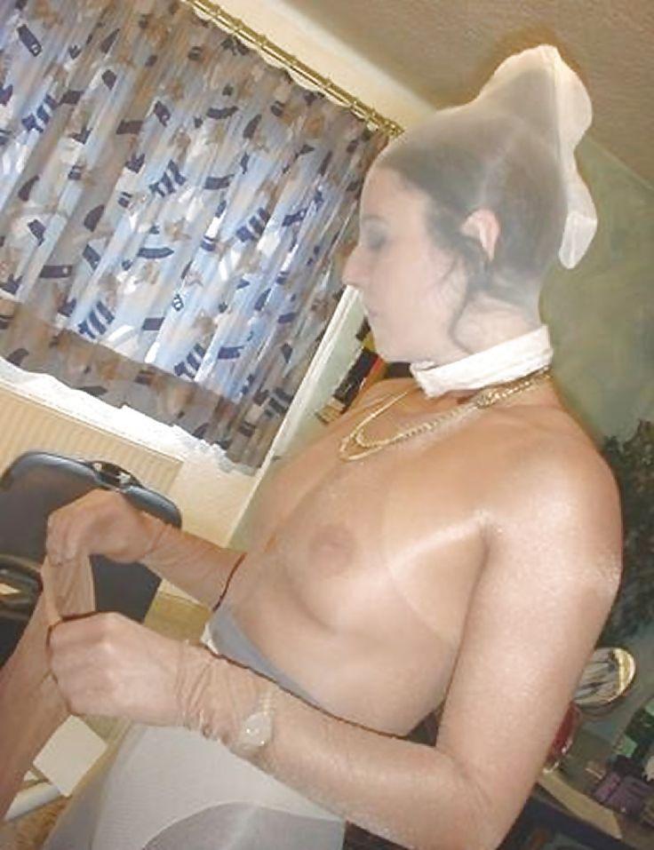 latex masked women