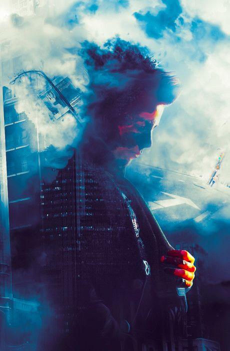Học photoshop căn bản với cách tạo hiệu ứng hình ảnh chân dung với thành phố tuyệt đẹp trong photoshop