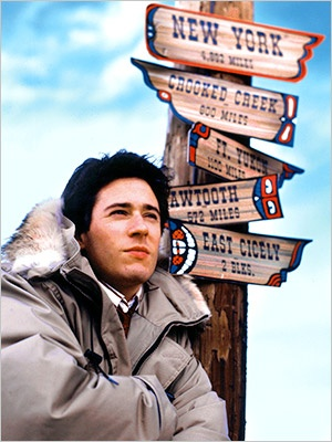 Rob Morrow as Dr. Joel Fleischman in Northern Exposure