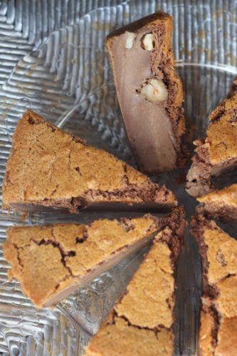 Abracadabradabradabra.... le gâteau magique au Nutella & aux noisettes