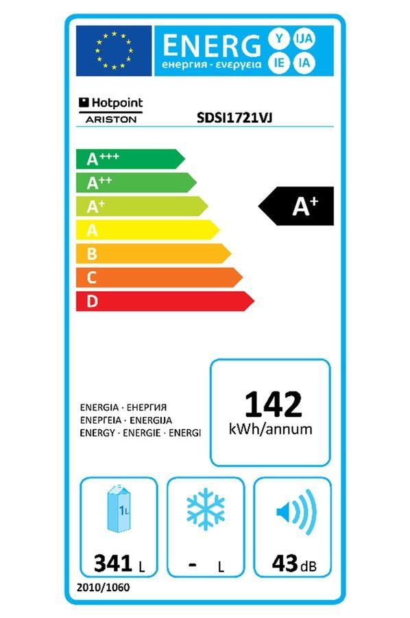 Refrigerateur armoire Hotpoint SDSI 1721VJ
