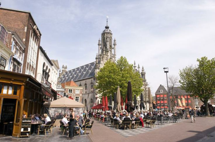 Terrassen Markt Middelburg
