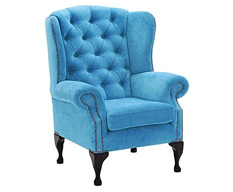 Toma asiento – sofás y sillones: Sillón Patrick – azul