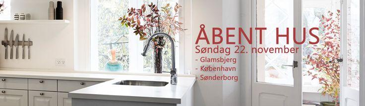 ÅBENT HUS NU PÅ SØNDAG  i byerne: Glamsbjerg på Fyn, København og Sønderborg. Se mere på vores hjemmeside:  www.sonderborg-kokken.dk